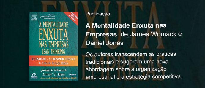 """Versão em Portugues do livro """"A Mentalidade Enxuta nas Empresas"""""""