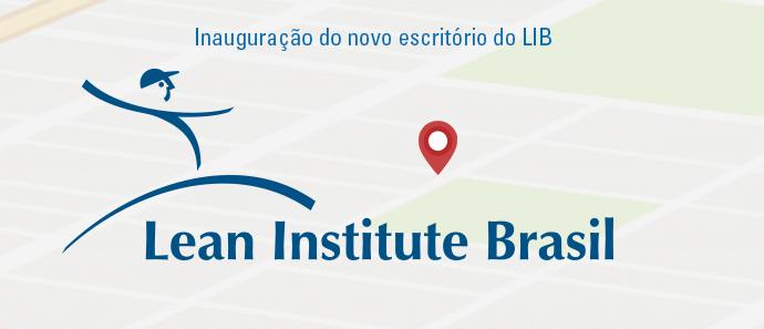 Inauguração do novo escritório do LIB