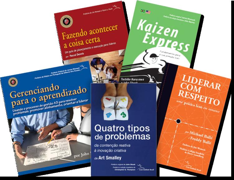 Imagem com livros que compõe o material do PPFL