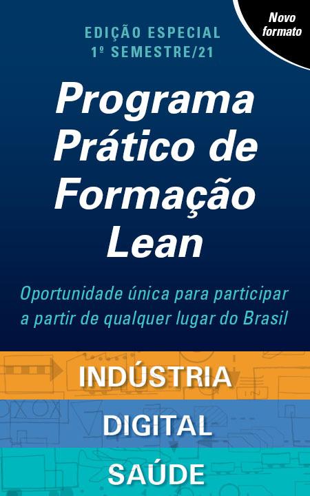 Banner Programa Prático de Formação Lean