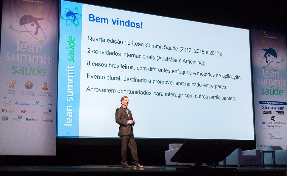 Flávio Battaglia, diretor do LIB e coordenador do Lean Summit Saúde.