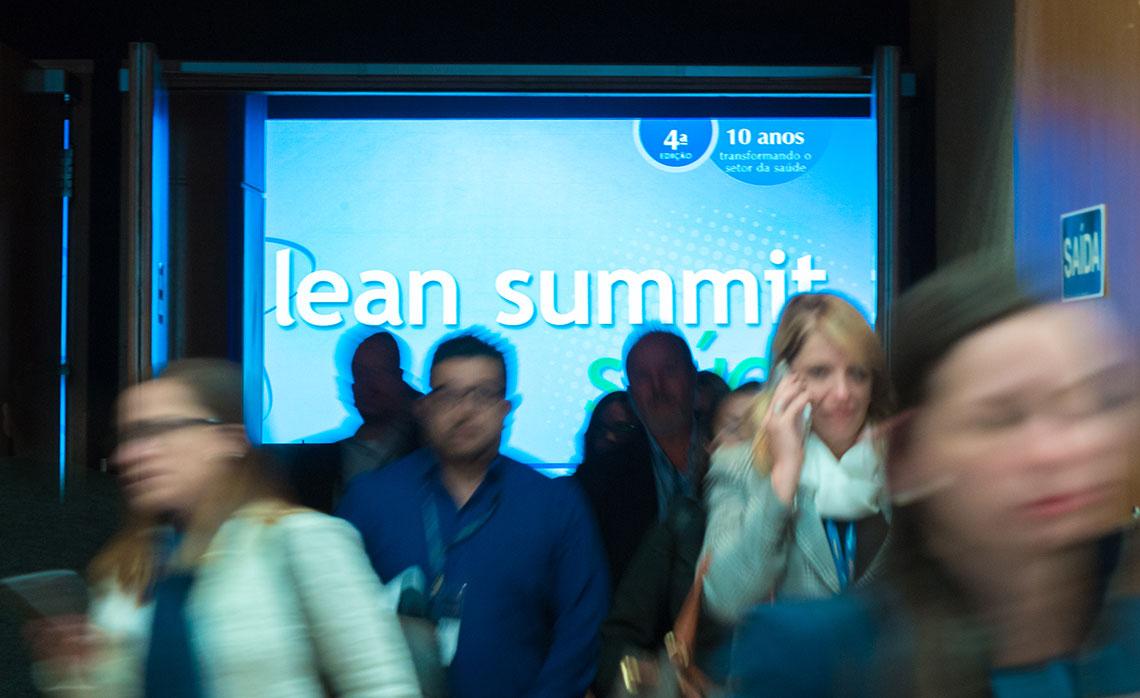 Até 2021 no Lean Summit Saúde.