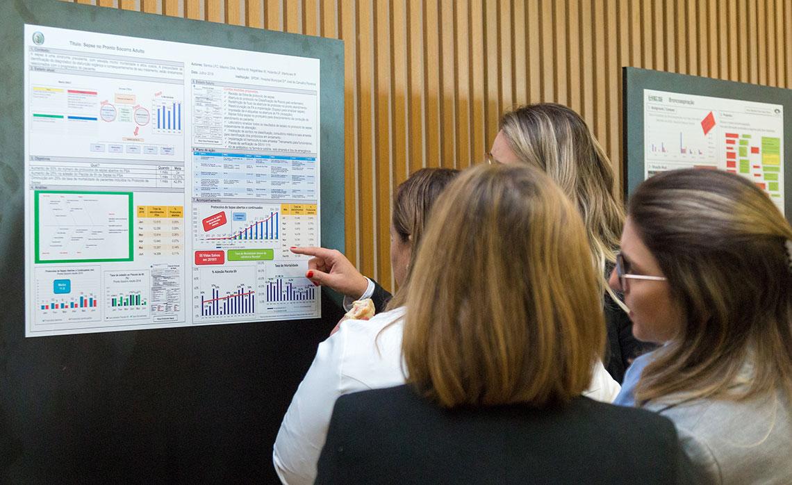 A exposição 'Compartilhe seu A3' gerou várias interações entre os participantes.