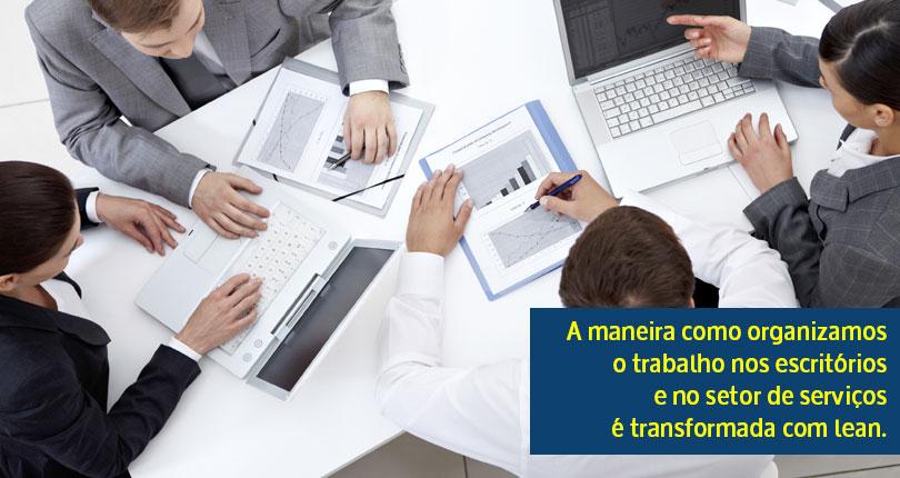 Consultoria Lean em Office e Serviços