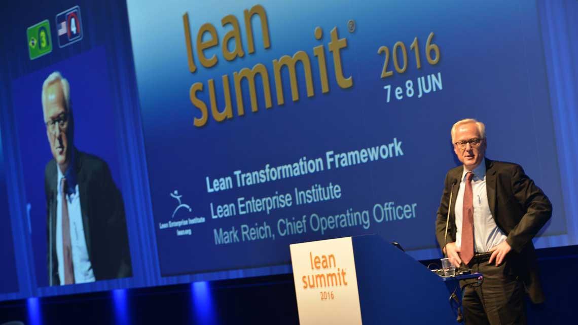 Mark Reich na plenária de abertura